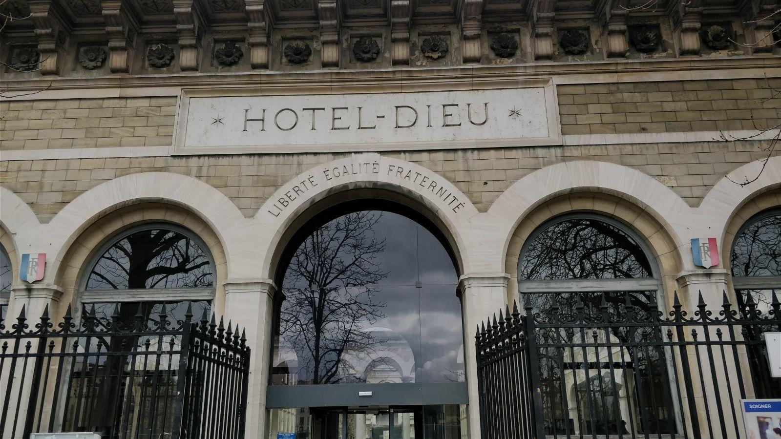 Photo De L'hotel Dieu Paris
